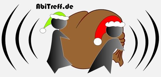 Ein gemütliches weihnachtsfest und einen großen sack voller